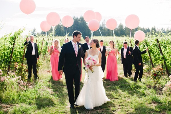 Beautiful vineyard wedding by Christa Taylor Photography
