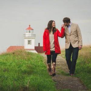 Beautiful uninhabited island engagement session from Jenn Ireland Photography