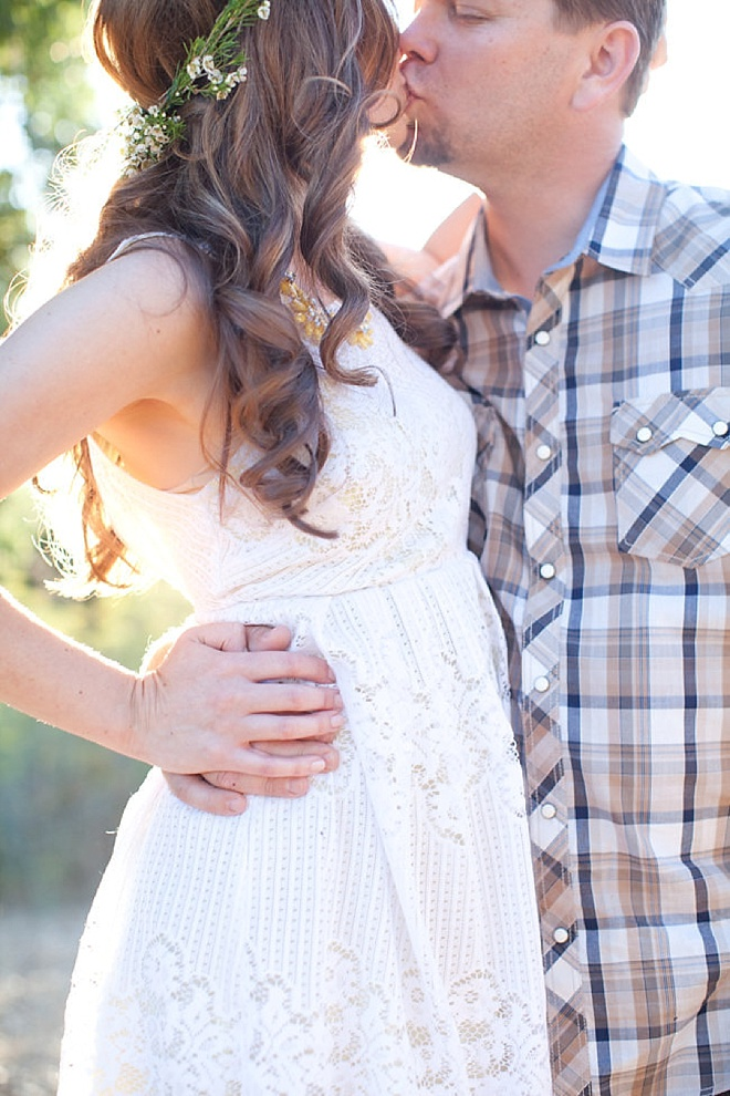 Adorable, sparkly-boho styled engagement shoot at Condor Nest Ranch