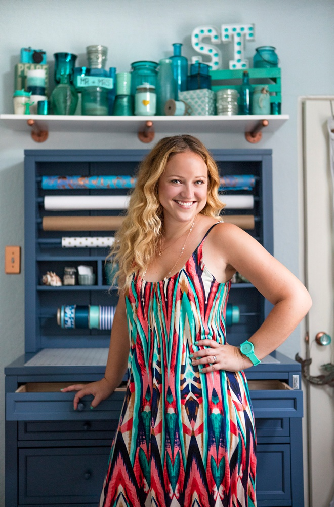 Jen Carreiro, Editor + Founder of Something Turquoise