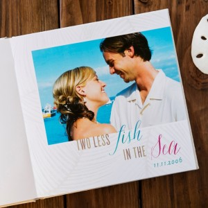 DIY Wedding Album with Shutterfly