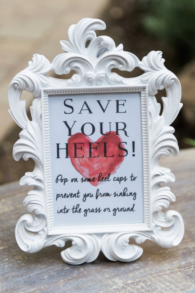 Save your Heels!