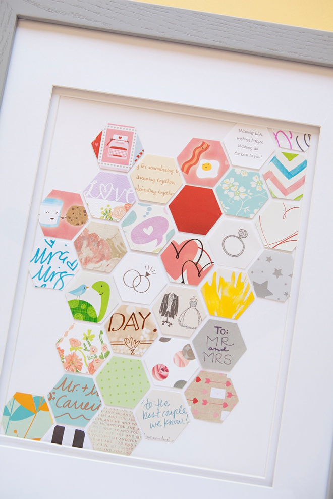 have a super funny story about buying all these wedding cards to use ...