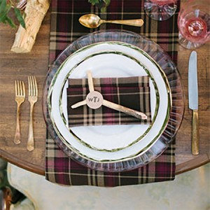 PLAID TABLE