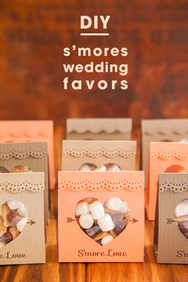 how to make wedding favours