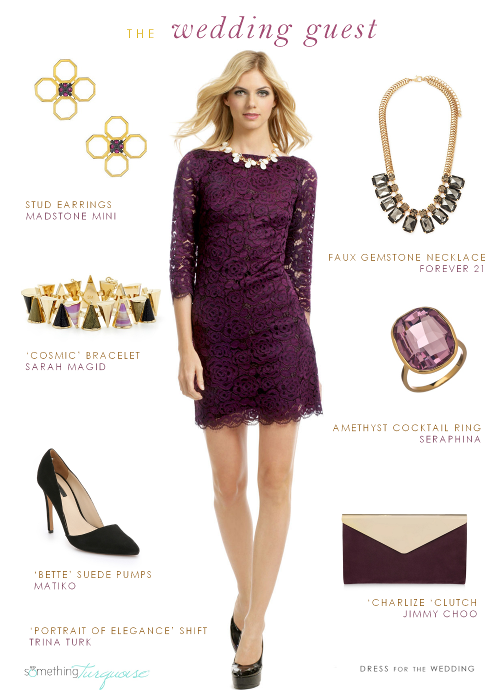 Fall wedding fashion ideas from dress for the wedding for What dress to wear to a fall wedding