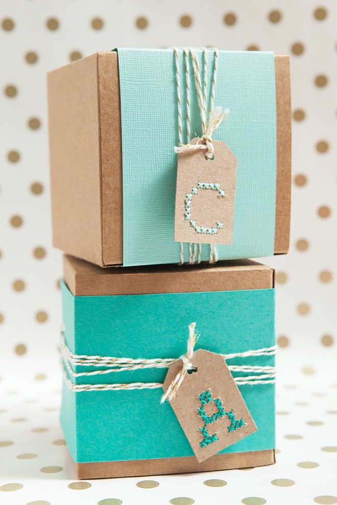 Learn How To Cross-stitch Alphabet Gift Tags!