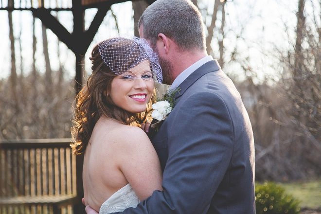 We love this darling winter wedding!