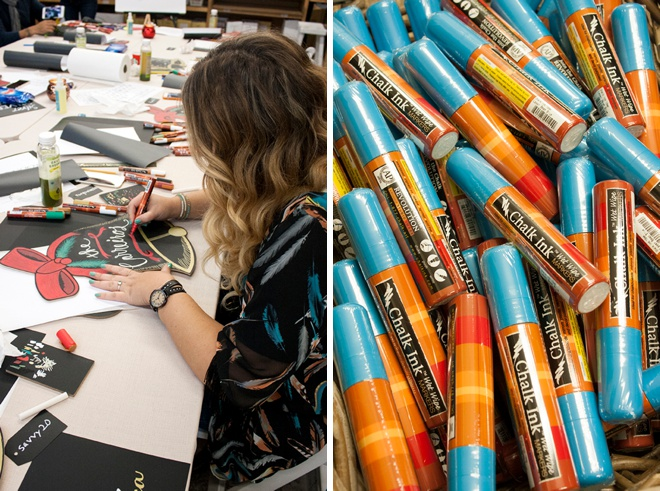 Something Turquoise visited Chalk Ink's Headquarters in Austin!