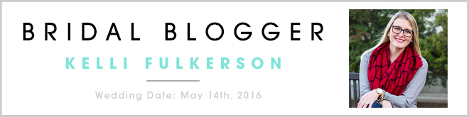 Kelli Fulkerson, Bridal Blogger for Something Turquoise