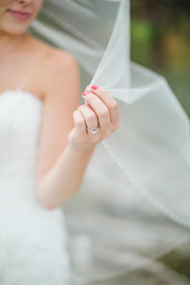 Stunning wedding ring shot!
