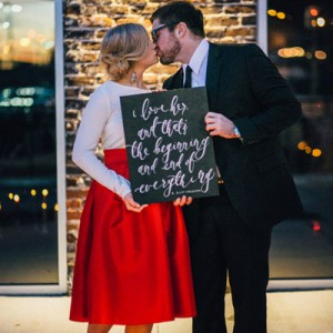 Gorgeous moody Valentines styled shoot!
