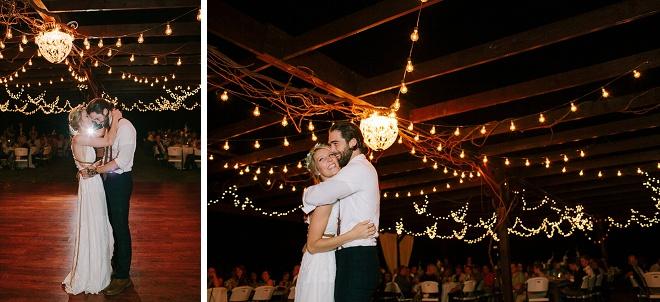 Swooning sobre esta primeira dança querida e Sr. e Sra