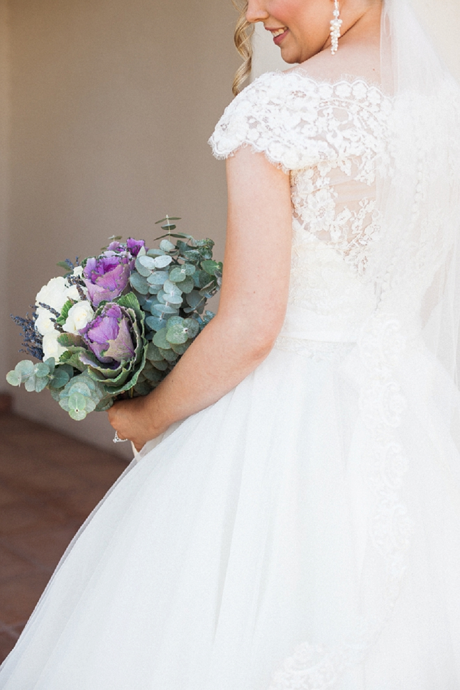 How gorgeous is this Bride and her amazing bouquet?! Swooning!