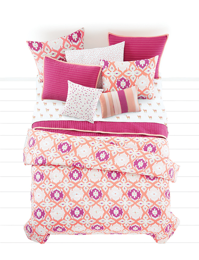 Gorgeous Martha Stewart Whim Bedding from Macy's in Desert Floral, Berry!