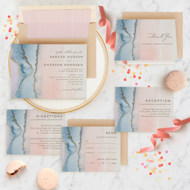 Get Creative With Minted Wedding Invitations   More