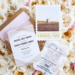 Custom wedding invitations and stationery from Shutterfly!
