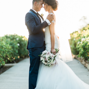 We're swooning over this GORGEOUS DIY wedding!