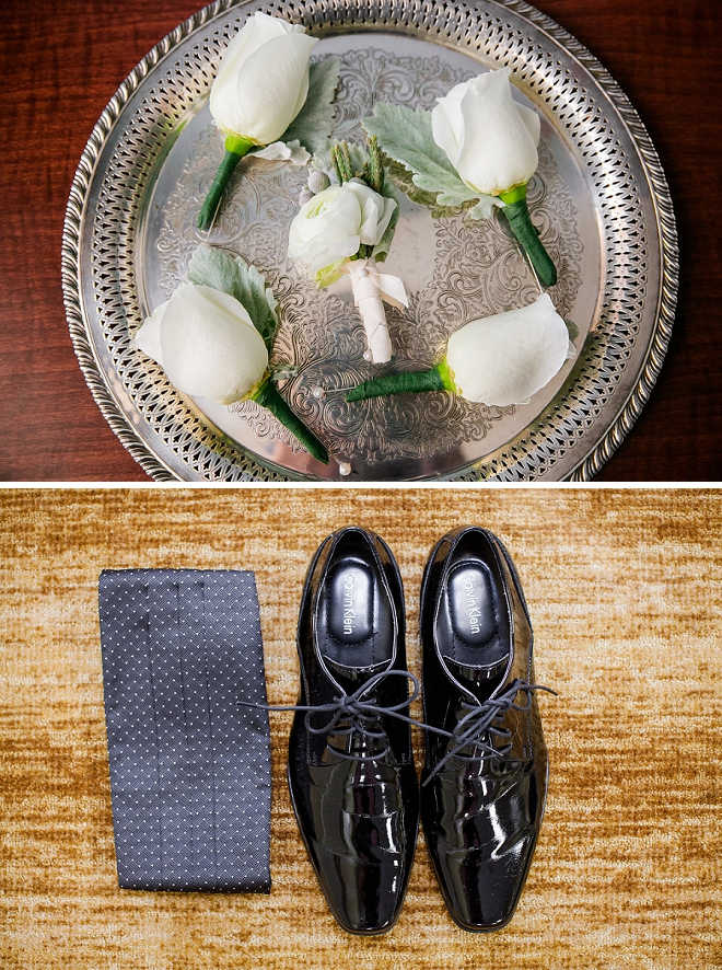 We're loving the details of this Groom's wedding style!