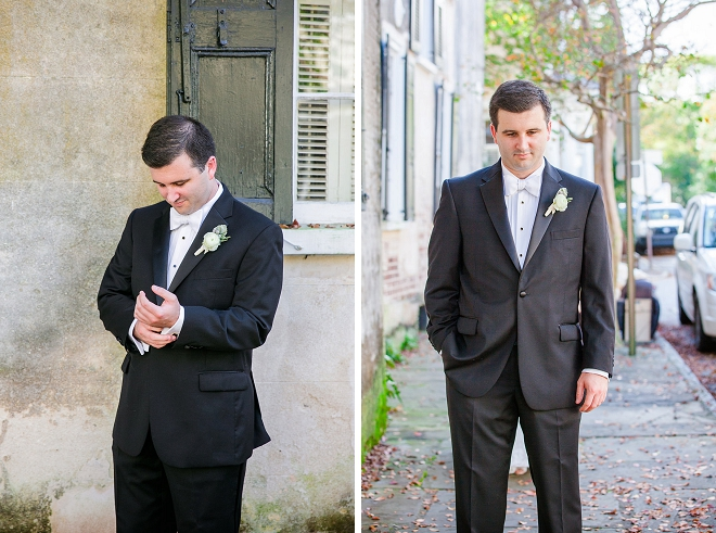 Great photos of the Groom getting ready for the big day!