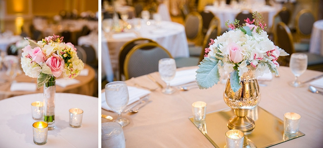 We love this gorgeous table decor for this beautiful Charleston wedding!