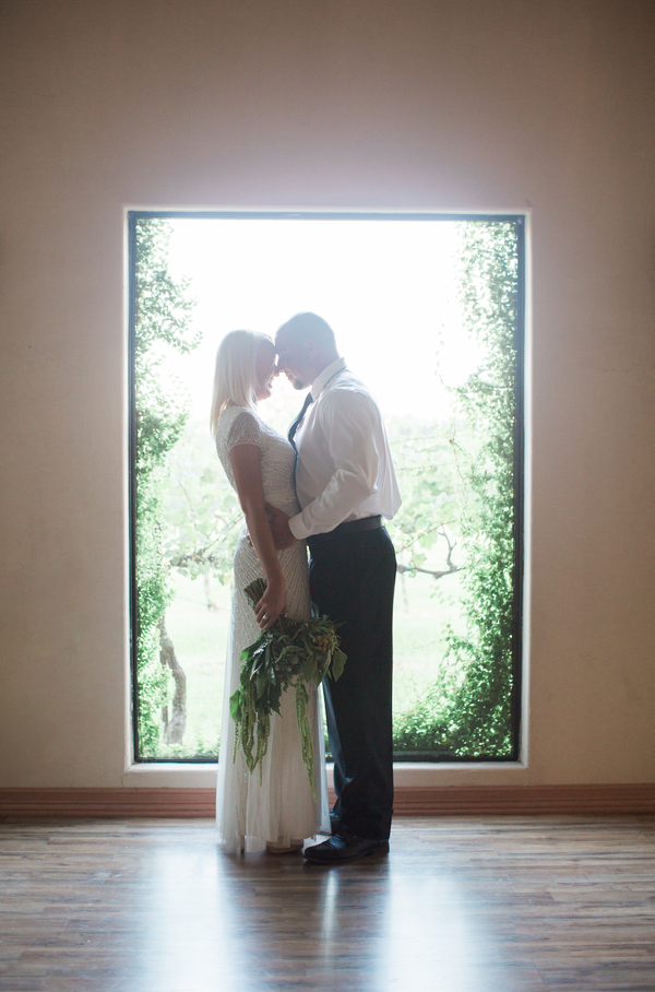 Beautiful shot of a bride and groom right after their ceremony!
