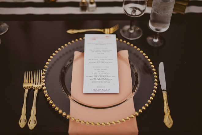 We're swooning over all of the gorgeous DIY details on each table at this boho-chic wedding!