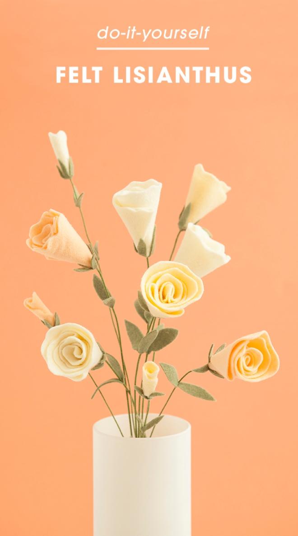 Comment tirer le meilleur parti chéri sentait les fleurs lisianthus et les bourgeons!