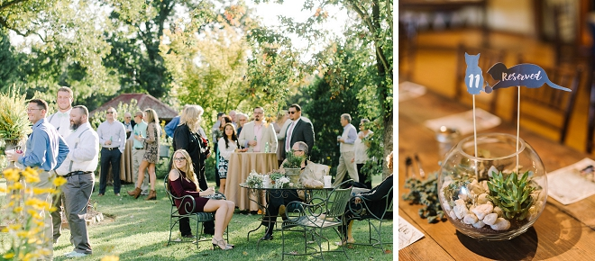 We're in LOVE with this boho chic backyard wedding!