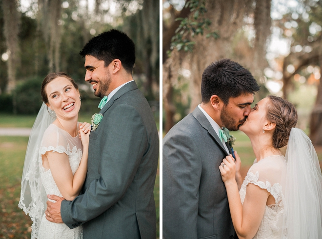 We're swooning over this gorgeous South Carolina wedding!