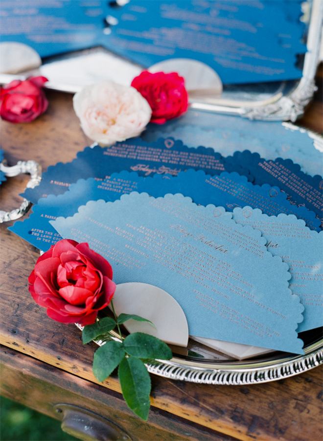 The most fabulously unique layered wedding programs