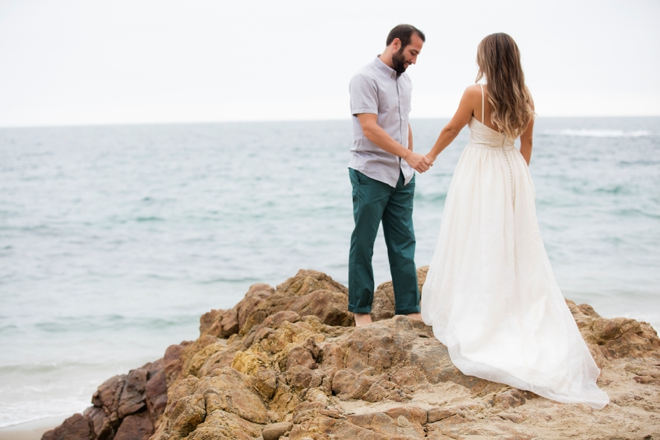 This wedding shoot is perfect for all you mermaids at heart!