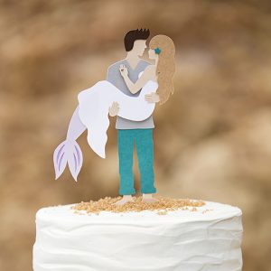 DIY-Mermaid-Wedding-Cake-topper-featured