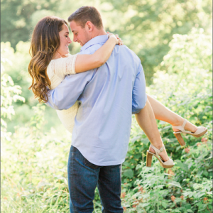 We're crushing on this gorgeous engagement session!