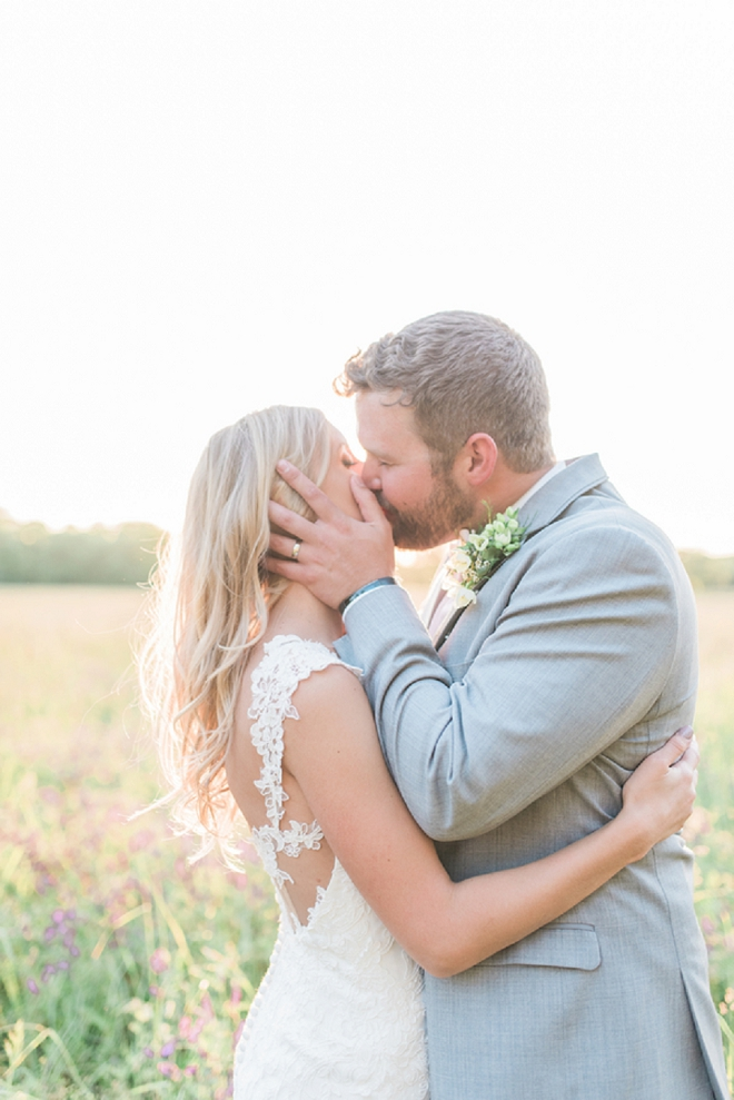 We're in LOVE with this dreamy Mr. and Mrs. and their stunning Nashville wedding!