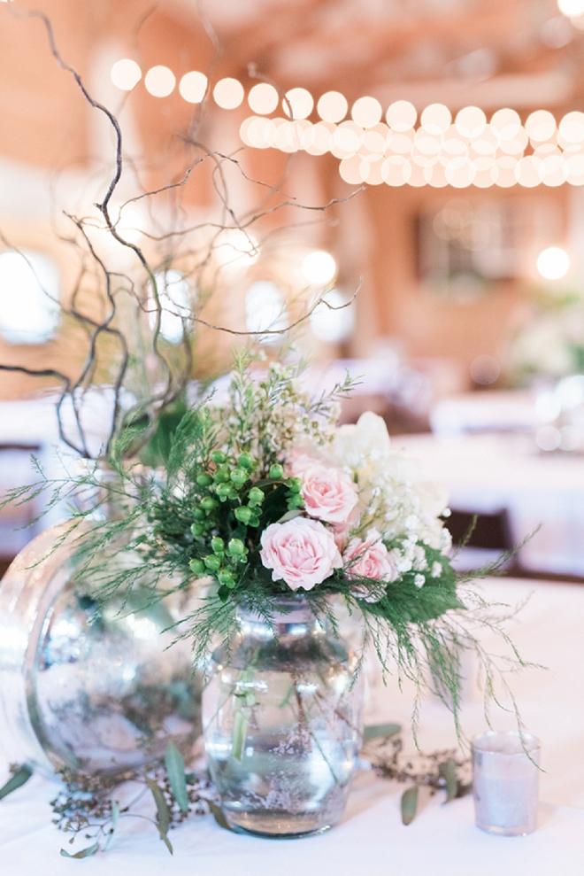 We love the sweet blush details at this stunning Nashville wedding!