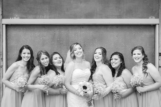 Sweet snaps of the Bride and her Bridemaid's before the big day!