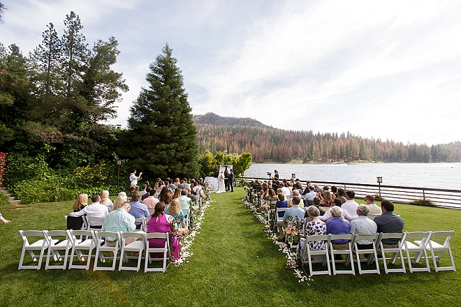 We're stunned by this couple's breathtaking wedding ceremony and venue!