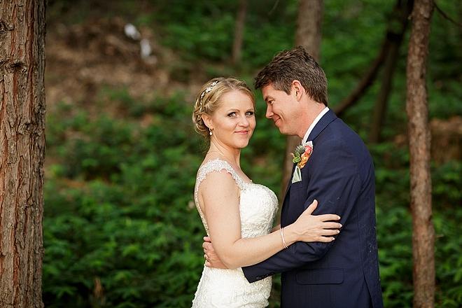 We love this couple's stunning lakeside wedding at Bass Lake!