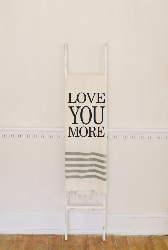 We can't get over this darling Love You More blanket!