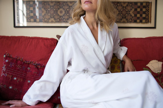 We just want to cuddle up on the couch in this super plush robe!