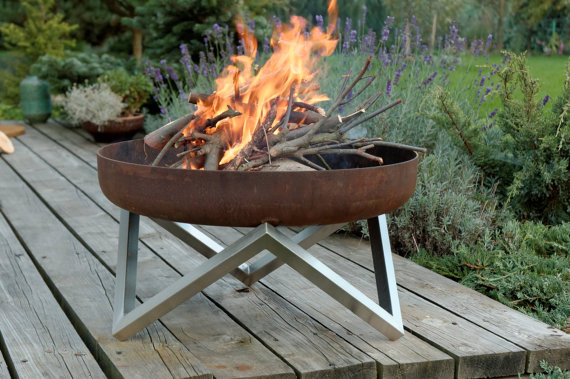 We dream of nights by the fire pit!