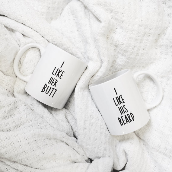 We're in LOVE with these hilarious mugs perfect for cocoa!