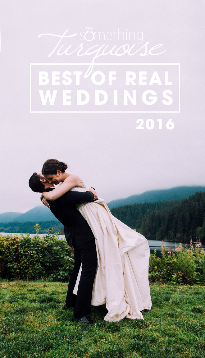 2016 Best of Real Weddings from Something Turquoise!