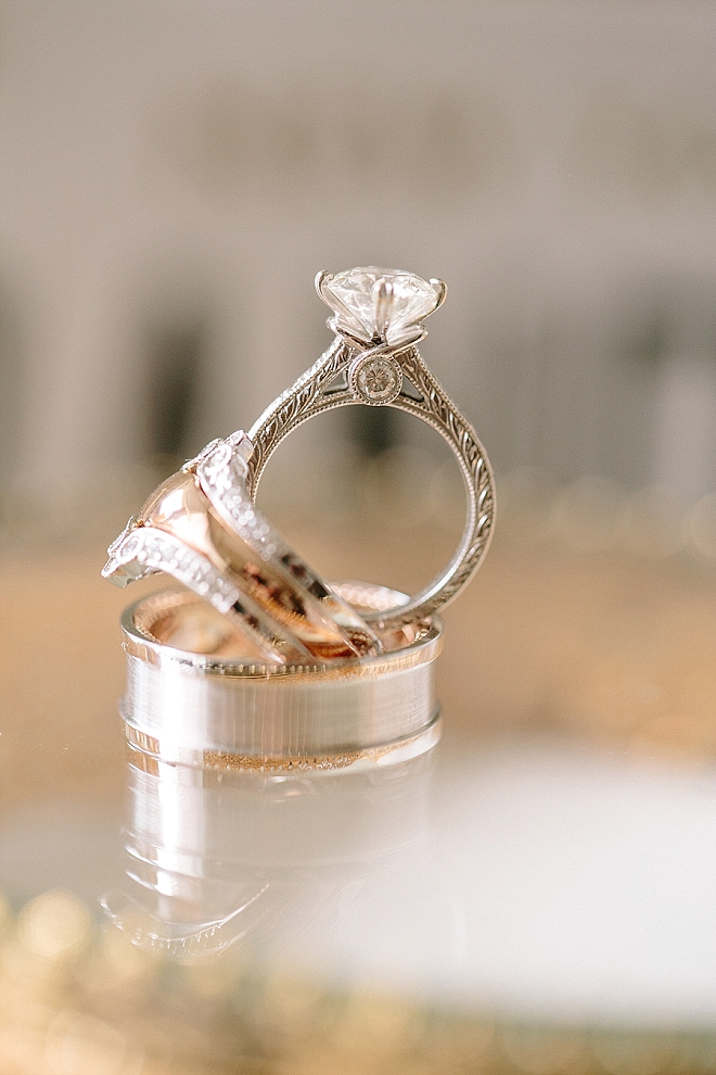Swooning over this gorgeous ring shot!