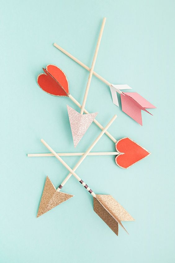 Darling arrow cake toppers are perfect for your wedding cake topper!