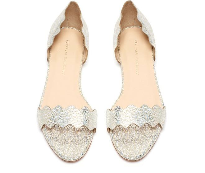 These would be great summer flats for wedding season!
