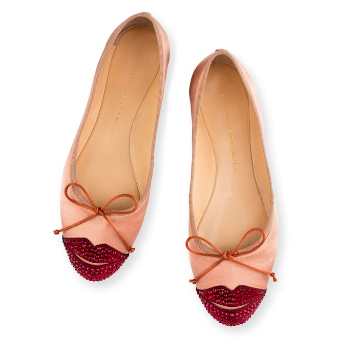 These Charlotte Olympia kissing shoes would be perfect for a bride!