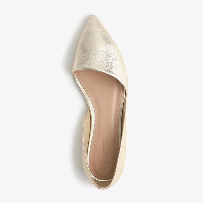 Gold wedding flats? Love them for after the wedding too.