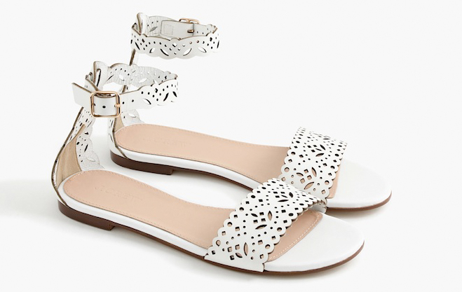 Perfect sandals for a summer wedding. You can wear them again and again!